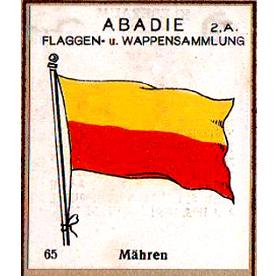 Moravská vlajka 1928 - Abadie