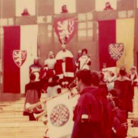 Moravská vlajka ve Znojmě 1967