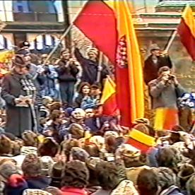 Moravská vlajka 1991